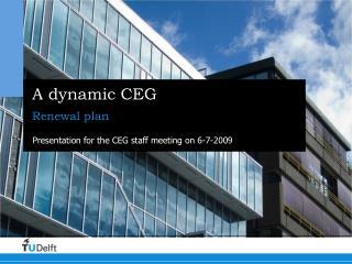 A dynamic CEG