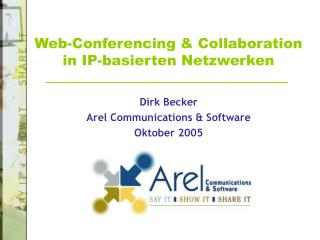 Web-Conferencing & Collaboration in IP-basierten Netzwerken