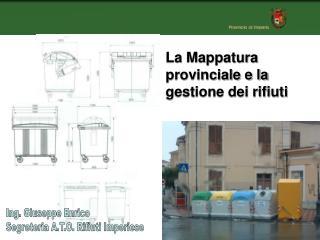 Ing. Giuseppe Enrico Segreteria A.T.O. Rifiuti Imperiese