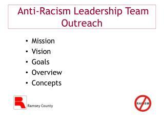 Anti-Racism Leadership Team Outreach