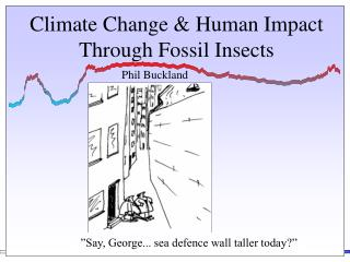 Climate Change & Human Impact Through Fossil Insects