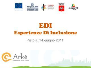 EDI Esperienze Di Inclusione