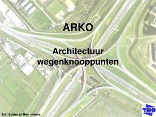 ARKO Architectuur wegenknooppunten