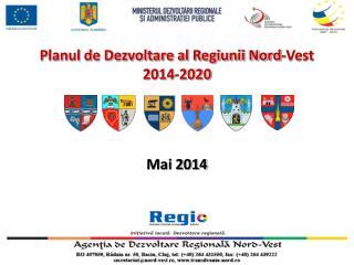 Planul de Dezvoltare al Regiunii Nord-Vest  2014-2020
