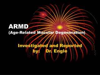 ARMD (Age-Related Macular Degeneration)