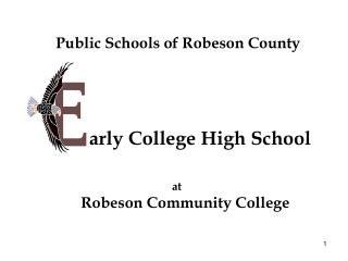 Public Schools of Robeson County