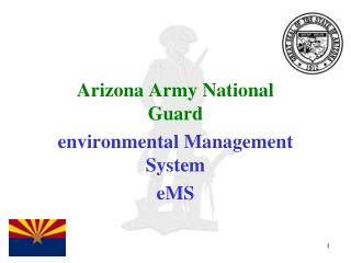 Arizona Army National Guard environmental Management System eMS