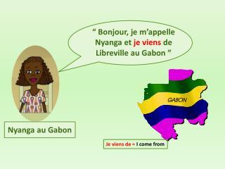 Nyanga au Gabon