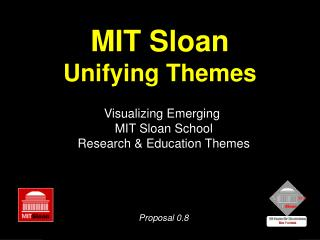 MIT Sloan Unifying Themes