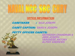 NAVAL NCC  SBC  CHRY