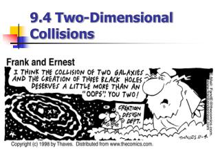 9.4 Two-Dimensional Collisions