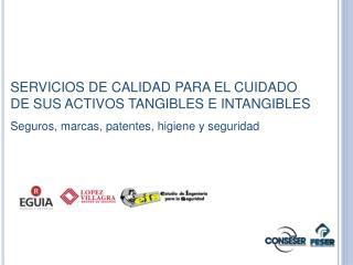 SERVICIOS DE CALIDAD PARA EL CUIDADO DE SUS ACTIVOS TANGIBLES E INTANGIBLES