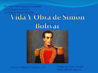 República Bolivariana de Venezuela U.E.El Ilustre Americano  Los Teques- Estado Miranda