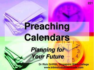 Preaching Calendars