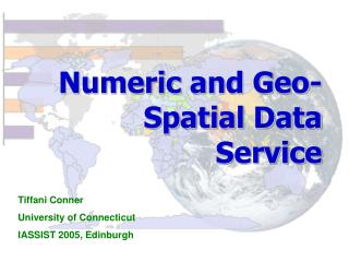 Numeric and Geo-Spatial Data Service
