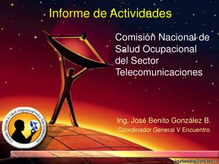 Comisión Nacional de Salud Ocupacional del Sector Telecomunicaciones