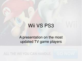 Wii VS PS3