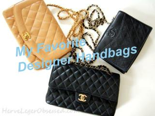 My favorite designer handbags