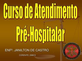 Curso de Atendimento Pré-Hospitalar