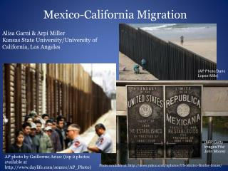 Mexico-California Migration
