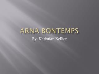 Arna bontemps