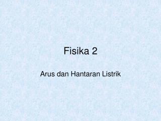 Fisika 2