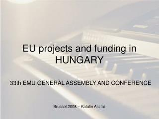EU projects and funding in HUNGARY