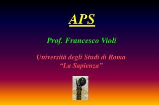 Prof. Francesco Violi