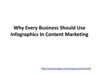 Why Every Business Should Use Infographics In Content Market