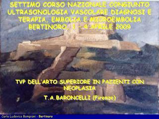Carlo Ludovico Bompiani -  Bertinoro