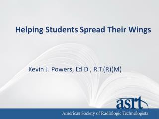 Helping Students Spread Their Wings