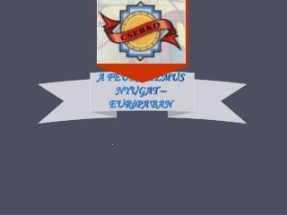 A FEUDALIZMUS NYUGAT –EURóPA ′ BAN