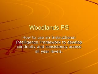 Woodlands PS