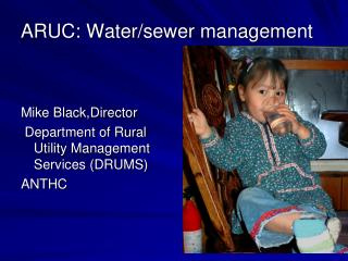 ARUC: Water/sewer management