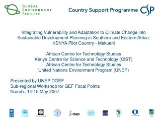 Integrating Vulnerability and Adaptation to Climate Change into