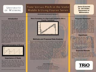 Tone Versus Pitch in the Violin Middle b Using Fourier Series