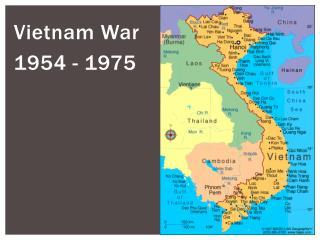 Vietnam War 1954 - 1975