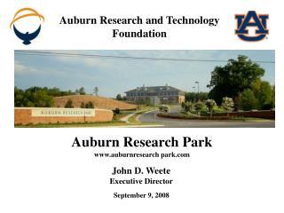 John D. Weete Executive Director