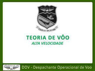 TEORIA DE VÔO