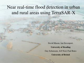 Near real-time flood detection in urban and rural areas using TerraSAR-X