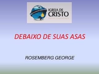DEBAIXO DE SUAS ASAS