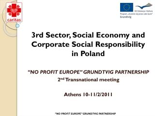 Social Economy in Poland