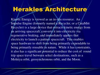 Herakles  Architecture