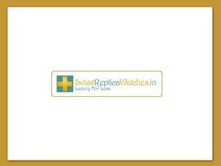 Luxury Swiss Replica Watches India - SwissReplicaWatches.in