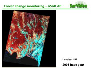 Landsat 457 2005 base year