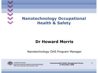 Nanotechnology Occupational Health & Safety