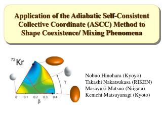 Application of the Adiabatic Self-Consistent Collective Coordinate (ASCC) Method to