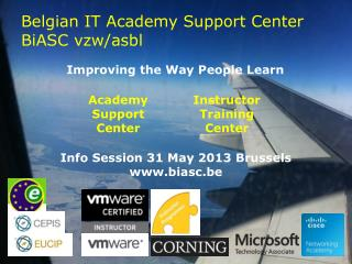 Belgian IT Academy Support Center BiASC vzw/asbl