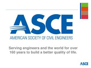 Serving engineers and the world for over 160 years to build a better quality of life.