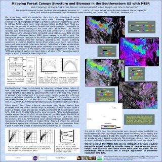 Mapping Forest Canopy Structure and Biomass in the Southwestern US with MISR